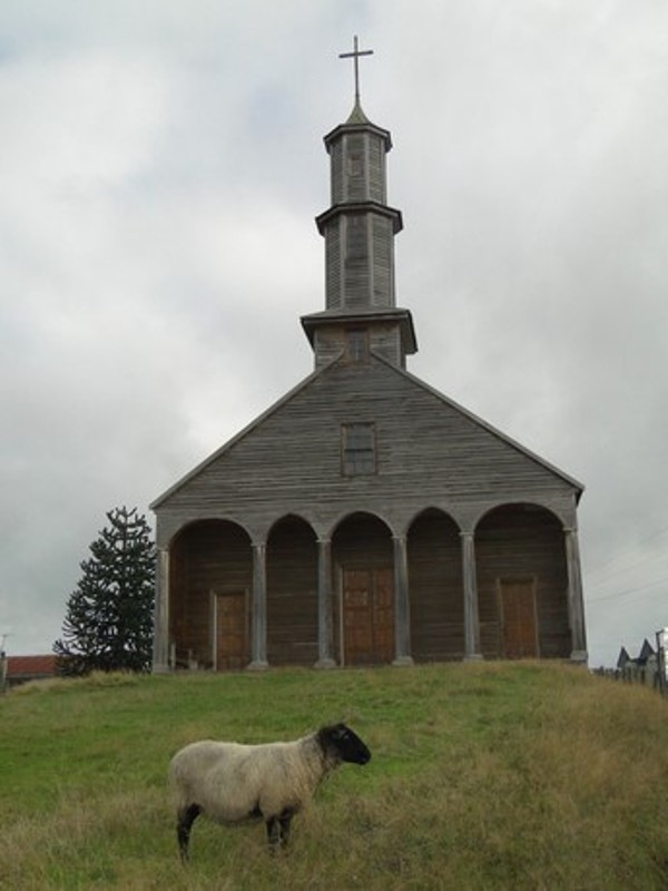 Iglesia patrimonial de Vilipulli