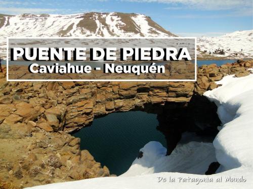 Trekking con raquetas de nieve al Puente de Piedra